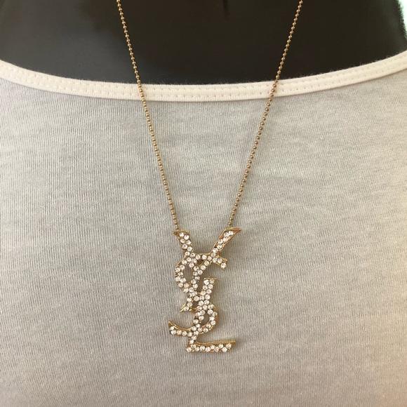 eb141372ce5 YSL YVES SAINT LAURENT Charm Necklace. M_5bc0bcb7534ef95797a0d7af